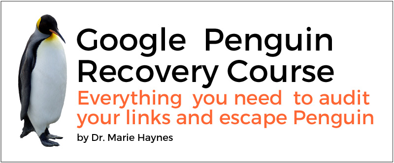 Google Penguin Recovery Course